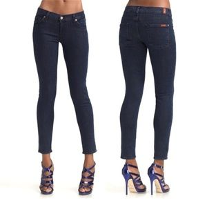 7 FOR ALL MANKIND LEXIE PETITE GWENEVERE JEANS 25